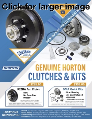 Fan Clutch specials on Horton products
